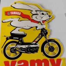 Pegatinas de colección: PEGATINA YAMY MODELO DE YAMAHA. Lote 288007933