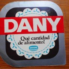 Pegatinas de colección: ANTIGUA PEGATINA DANY. DANONE. Lote 288083733