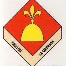 Pegatinas de colección: ADHESIVO / PEGATINA - CATALUNYA CAPS DE COMARCA - PUIGCERDA / LA CERDANYA - ESCUDO / HERALDICA. Lote 288296983
