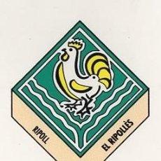 Pegatinas de colección: ADHESIVO / PEGATINA - CATALUNYA CAPS DE COMARCA - RIPOLL / EL RIPOLLES - ESCUDO/ HERALDICA. Lote 288297378