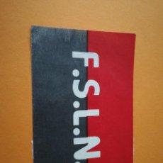 Pegatinas de colección: PEGATINA POLÍTICA: FSLN. Lote 291214263