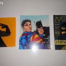 Pegatinas de colección: BATMAN 3 PEGATINAS. Lote 295383253