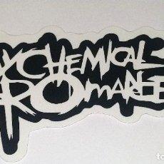 Pegatinas de colección: MY CHEMICAL ROMANCE PEGATINA. Lote 295384628