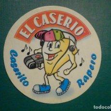 Pegatinas de colección: ADHESIVO - STICKER - EL CASERIO - CASERITO RAPERO - 10 CM.. Lote 295526778
