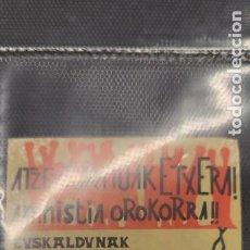 Pegatinas de colección: PEGATINA POLÍTICA TRANSICIÓN EUSKADI. Lote 295841113