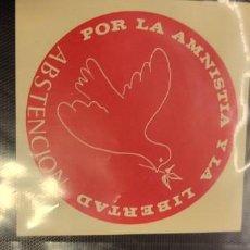 Pegatinas de colección: PEGATINA POLÍTICA TRANSICIÓN EUSKADI. Lote 295841753