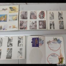 Pegatinas de colección: LOTE PEGATINAS CURIOSAS DE ALA DELTA EDITORIAL. Lote 296898248