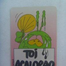 Pegatinas de colección: PEGATINA DE BOLLYCAO COLECCION DE LOS 50 BOLLY - TOIS : TOI ACALORAO. Lote 296902728