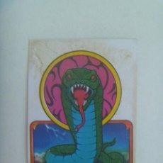 Pegatinas de colección: PEGATINA DE BOLLYCAO COLECCION SKATEBOARDS TERRORIFICOS : SNAKE. Lote 297129618