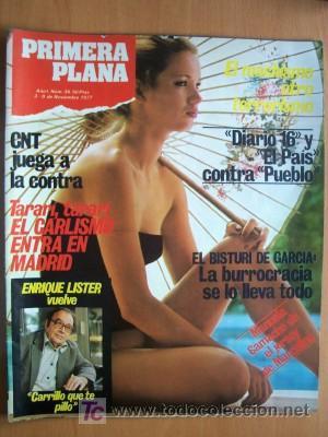 PRIMERA PLANA Nº 36 - 3 NOVIEMBRE 1977 - EL CARLISMO ENTRA EN MADRID (Coleccionismo - Revistas y Periódicos Modernos (a partir de 1.940) - Periódico El Páis)