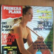 Coleccionismo de Periódico El País: PRIMERA PLANA Nº 36 - 3 NOVIEMBRE 1977 - EL CARLISMO ENTRA EN MADRID. Lote 16979751