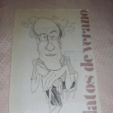 Coleccionismo de Periódico El País: ROALD DAHL-EL CIRUJANO-EL PAIS-1985- - RELATO VERANO. Lote 21784887