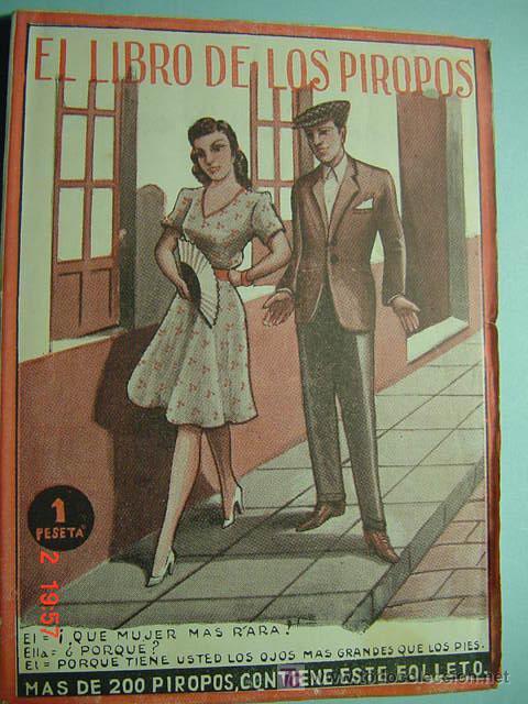 5563 LIBRO DE PIROPOS - EDITORIAL ALAS - AÑOS 1940 - MAS EN MI TIENDA TC COSAS&CURIOSAS (Coleccionismo - Revistas y Periódicos Modernos (a partir de 1.940) - Periódico El Páis)