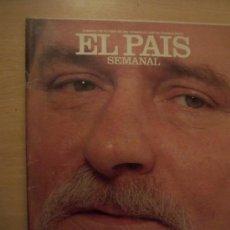 Coleccionismo de Periódico El País: EL PAIS SEMANAL.1 OCTUBRE 1989. LECH WALESA. Lote 8604776