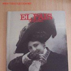 Coleccionismo de Periódico El País: EL PAIS SEMANAL. Lote 2568976