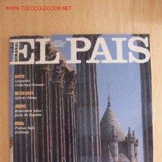Coleccionismo de Periódico El País: EL PAIS SEMANAL. Lote 2569023