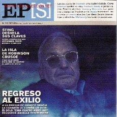 Collectionnisme de Journal El País: REVISTA 'EL PAÍS SEMANAL', Nº 1425. 18 DE ENERO DE 2004. EXILIADOS EN PORTADA.. Lote 5614853