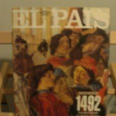 Coleccionismo de Periódico El País: SEMANAL EL PAIS ESPECIAL 1492. Lote 26294264