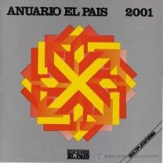 Coleccionismo de Periódico El País: ANUARIO EL PAÍS 2001 - EDICIÓN EN CD ROM. Lote 19491265