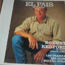Coleccionismo de Periódico El País: ROBERT REDFORD: PORTADA Y ENTREVISTA ILUSTRADA. Lote 27182770