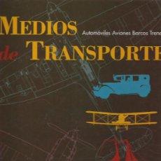 Coleccionismo de Periódico El País: MEDIOS DE TRANSPORTE - EL PAIS - ORIGINAL - COMPLETO Y ENCUADERNADO. Lote 18839324