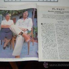 Coleccionismo de Periódico El País: EL FARY: ENTREVISTA DE 1984. Lote 24649185