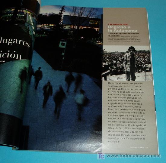 Coleccionismo de Periódico El País: EL PAIS DE NUESTRAS VIDAS 1976 -2001 . NUMERO EXTRA DE EL PAIS SEMANAL. Nº 1284. 6 DE MAYO DE 2001 - Foto 2 - 28297834