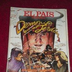 Collectionnisme de Journal El País: REVISTA EL PAIS SEMANAL - NUM: 221 - 5 JULIO 1981 - DEMONIOS EN EL JARDIN. Lote 26515220