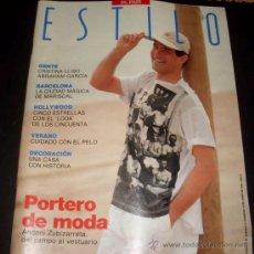 Coleccionismo de Periódico El País: REVISTA ESTILO EL PAIS - NUMERO 86 - JUNIO 1990. Lote 26093564