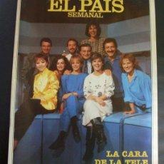 Coleccionismo de Periódico El País: REVISTA EL PAIS SEMANAL - NUMERO 481 - 29 JUNIO 1986 - LA CARA DE LA TELE. Lote 26114225