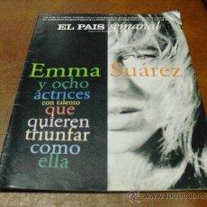Coleccionismo de Periódico El País: REV EL PAIS SEMANAL 1/1997 - EMMA SUAREZ- AMPLIO RPTJE.PATRICK O'BRIAN,LA CASA BLANCA,PIRENA. Lote 26990570