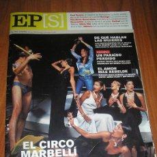 Coleccionismo de Periódico El País: EL PAIS SEMANAL-Nº 1299-19 AGOSTO 2001-MARBELLA-METTE MARIT-NAOMI KLEIN-JAMES DEAN. Lote 28319184
