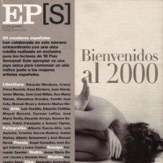 Coleccionismo de Periódico El País: EPS - EL PAÍS SEMANAL - BIENVENIDOS AL 2000 - Nº 1214, 2 DE ENERO DE 2000 - EXCELENTE CONSERVACIÓN. Lote 28484617