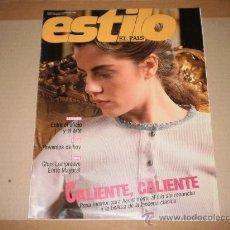Coleccionismo de Periódico El País: SUPLEMENTO ESTILO EL PAIS , 5 DE FEBRERO 1989 . NUMERO 16 . . Lote 29492099