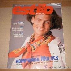 Coleccionismo de Periódico El País: SUPLEMENTO ESTILO EL PAIS , 2 DE ABRIL 1989 . NUMERO 24 . . Lote 29492190