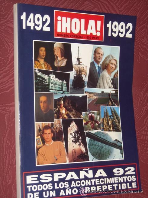 HOLA ESPECIAL ESPAÑA 1992 - UN AÑO IRREPETIBLE - NUEVA DE KIOSKO SIN USAR JAMAS - IMPECABLE-430 PÁGS (Coleccionismo - Revistas y Periódicos Modernos (a partir de 1.940) - Periódico El Páis)