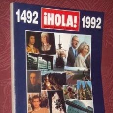 Coleccionismo de Periódico El País: HOLA ESPECIAL ESPAÑA 1992 - UN AÑO IRREPETIBLE - NUEVA DE KIOSKO SIN USAR JAMAS - IMPECABLE-430 PÁGS. Lote 30019676