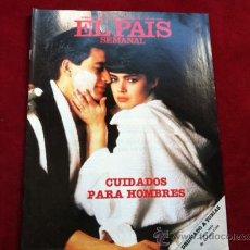Coleccionismo de Periódico El País: EL PAIS SEMANAL Nº 460 . 2 FEBRERO 1986 . CUIDADOS PARA HOMBRES . JERUSALEN , JEAN CASTEL. Lote 30096782