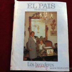 Coleccionismo de Periódico El País: EL PAIS SEMANAL Nº 457 12 ENERO 1985 . ROMY SCHNEIDER , NAGISA CAHIMA . HEREDEROS . Lote 30096960