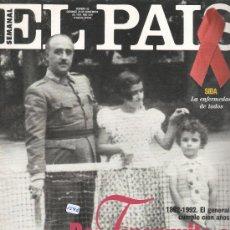 Coleccionismo de Periódico El País: REVISTA EL PAIS SEMANAL NUM 93 DE NOVIEMBRE 1992. Lote 30443051
