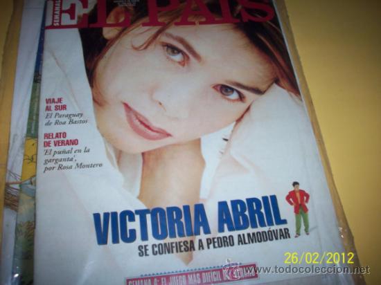 SEMANAL EL PAIS Nº 183 21 AGOSTO 1994-VICTORIA ABRIL_ (Coleccionismo - Revistas y Periódicos Modernos (a partir de 1.940) - Periódico El Páis)