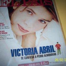 Coleccionismo de Periódico El País: SEMANAL EL PAIS Nº 183 21 AGOSTO 1994-VICTORIA ABRIL_. Lote 30741327