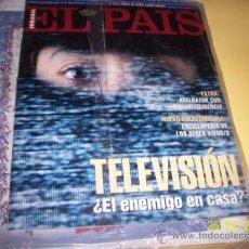 Coleccionismo de Periódico El País: SEMANAL EL PAIS Nº166 24 ABRIL 1994-TELEVISION ¿ ENEMIGO EN CASA?. Lote 30741342