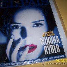 Coleccionismo de Periódico El País: EL PAIS SEMANAL Nº164 10 ABRIL 1994 -WINONA RYDER-. Lote 30741399