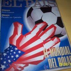 Coleccionismo de Periódico El País: EL PAIS SEMANAL Nº173 12 JUNIO 1994-EL MUNDIAL DEL DOLAR-. Lote 30741421