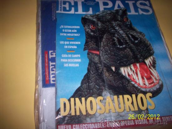 EL PAIS SEMANAL Nº135 19 SEPTIEMBRE 1994-DINOSAURIOS- (Coleccionismo - Revistas y Periódicos Modernos (a partir de 1.940) - Periódico El Páis)