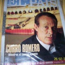 Coleccionismo de Periódico El País: EL PAIS SEMANAL Nº 163 3 ABRIL 1994-CURRO ROMERO-. Lote 30741483