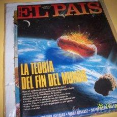 Coleccionismo de Periódico El País: EL PAIS SEMANAL Nº162 27 MARZO 1994-LA TEORIA DEL FIN DEL MUNDO-. Lote 30741497