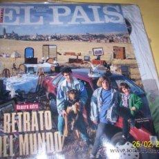Coleccionismo de Periódico El País: SUPLEMENTO EL PAIS Nº186 RETRATO DEL MUNDO . Lote 55014269