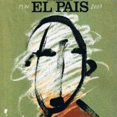 Coleccionismo de Periódico El País: EL PAIS DE NUESTRAS VIDAS - 1976 - 2001 - ESPECIAL 25 AÑOS. Lote 162552806
